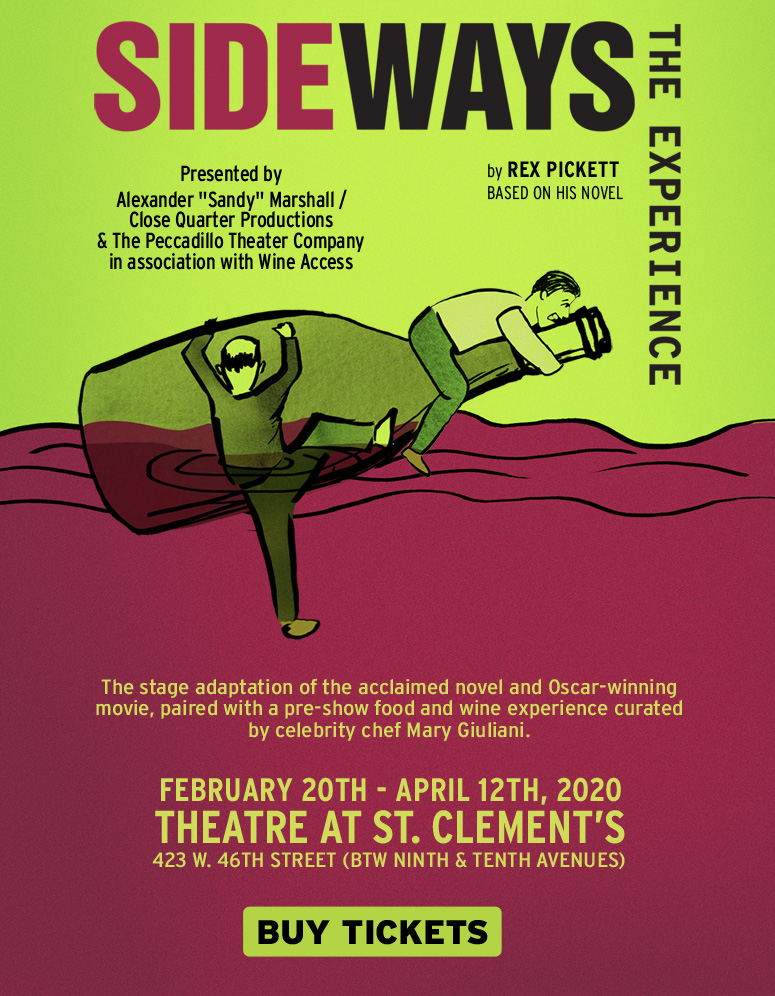 Sideways the Experience at St Clements Theatre